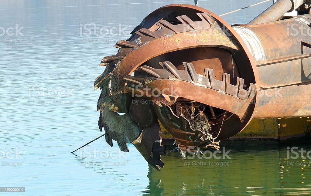 rotor with blade stock photo