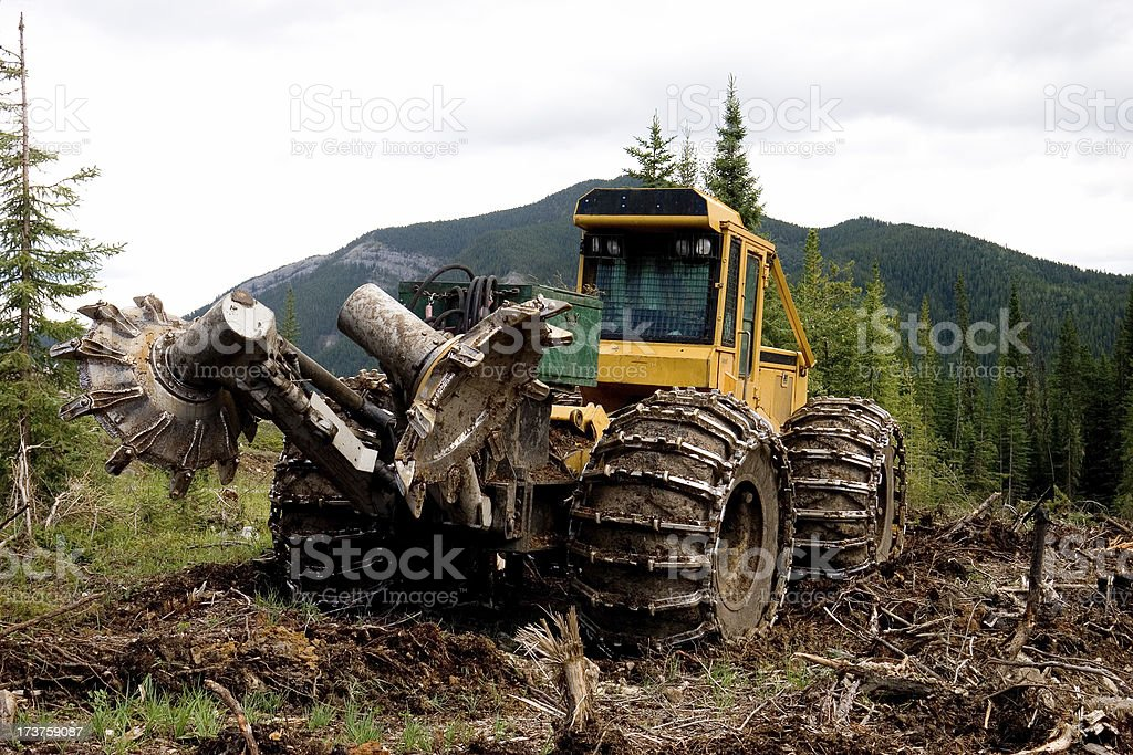 Rototiller royalty-free stock photo