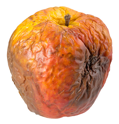 Rotten Apple Stock Photo - Download Image Now