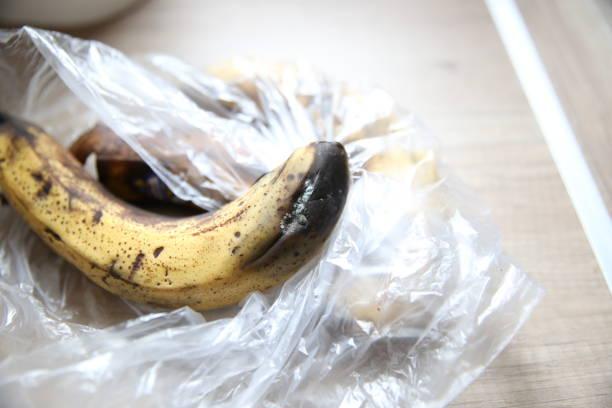 Rotte banaan foto