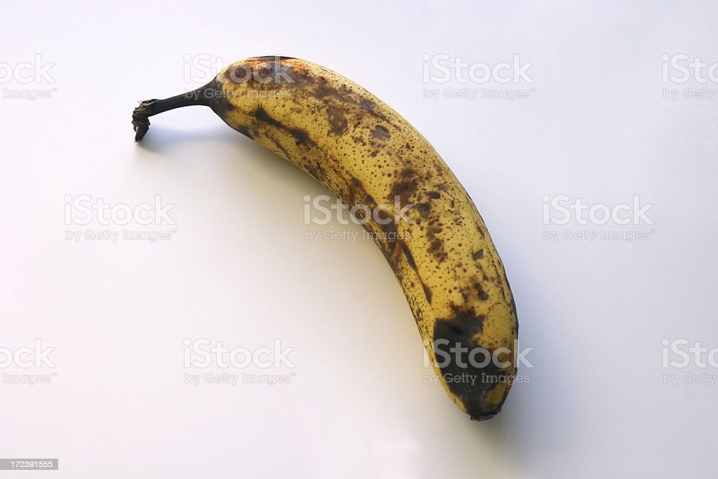 Rotten Banana royalty-free stock photo