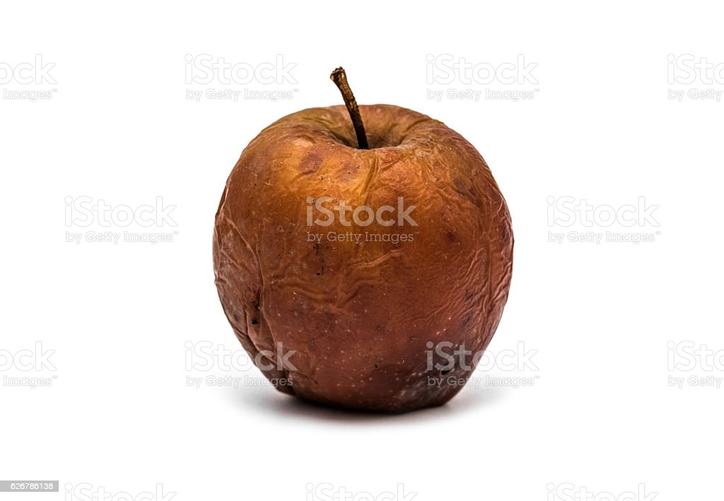 Rotten fruit stock photo