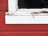 istock Rotten, Peeling Windowsill 180699687