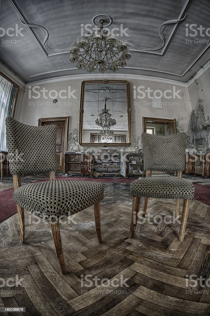 Rotten place royalty-free stock photo