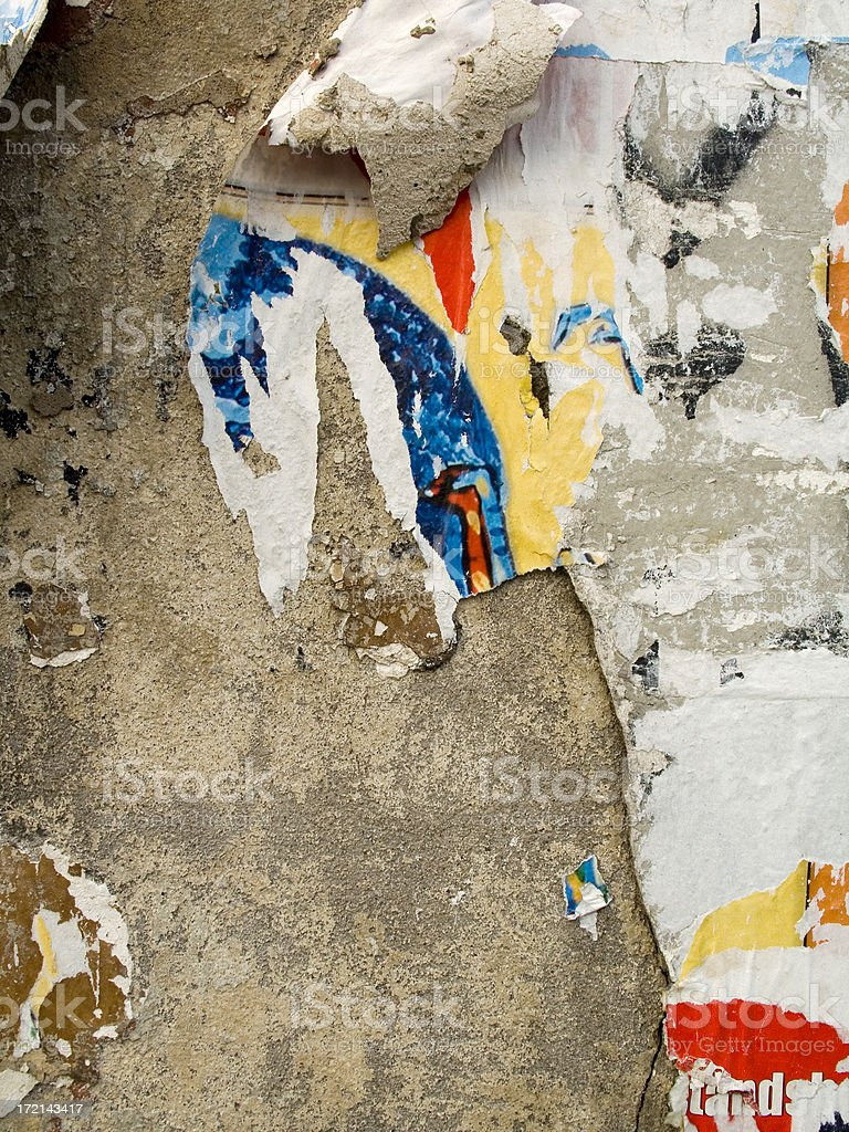 rotten wallpaper royalty-free stock photo