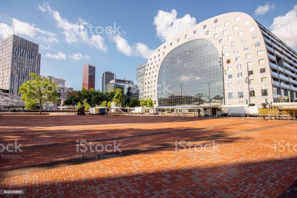 Stadt Rotterdam Niederlande – Foto