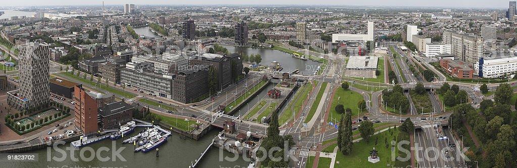Rotterdam - cityscape royalty-free stock photo