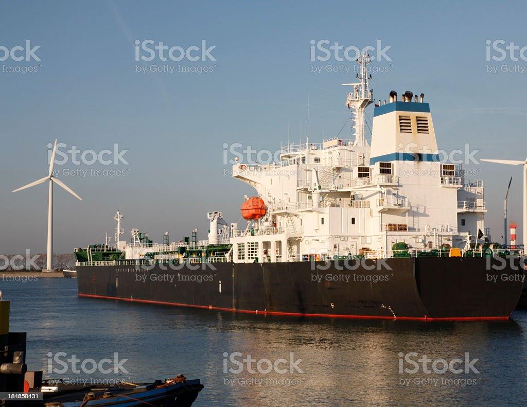 Rotterdam harbor royalty-free stock photo