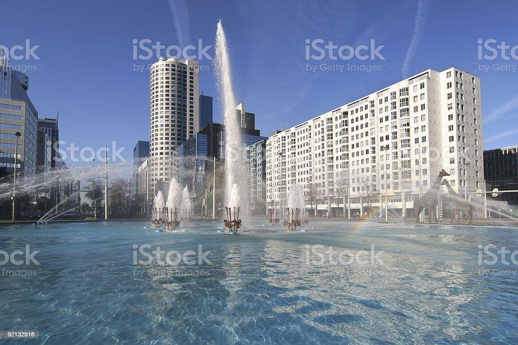 Rotterdam Hofplein stock photo