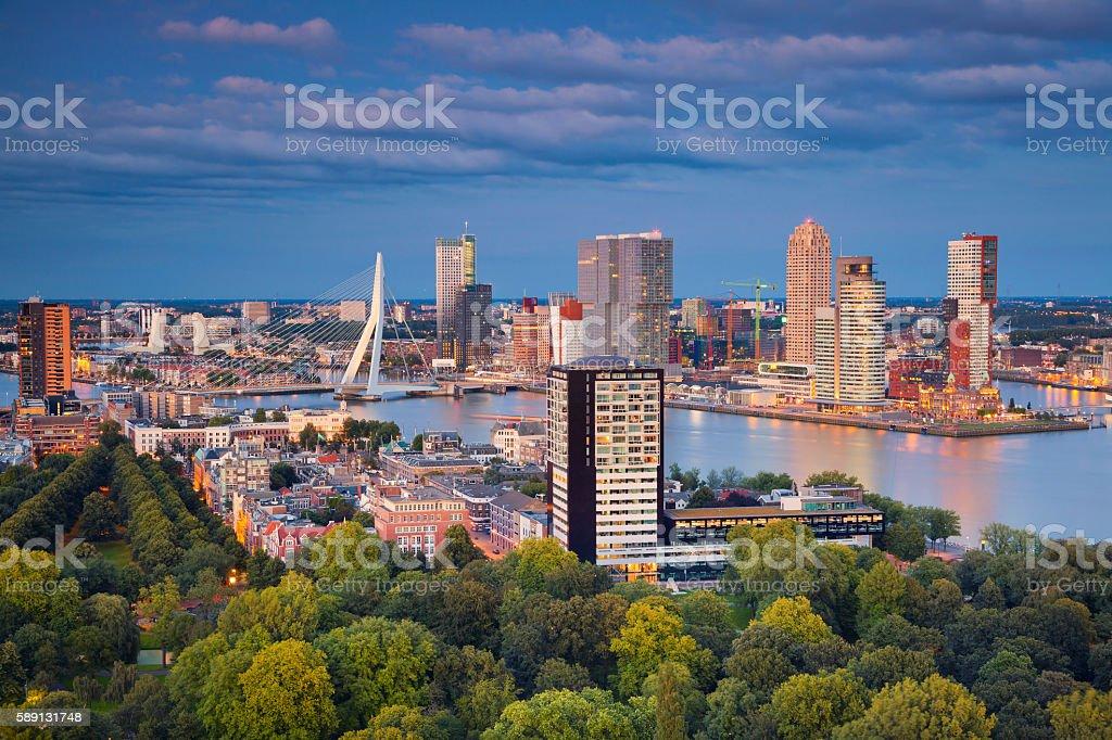 Rotterdam. stock photo