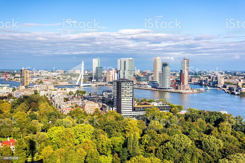 Skyline von Rotterdam – Foto