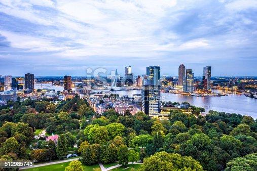 istock Rotterdam Skyline 512985743