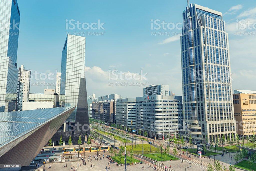 Rotterdam the Netherlands stock photo