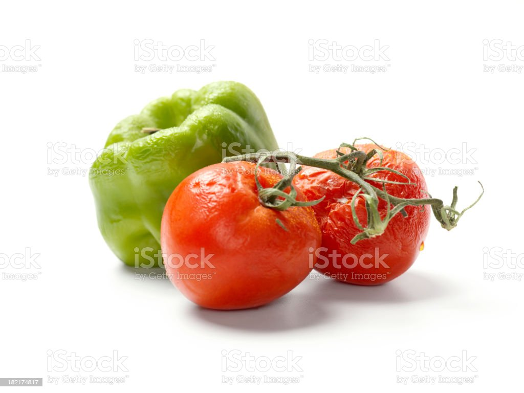 Rotting Vegetables royalty-free stock photo