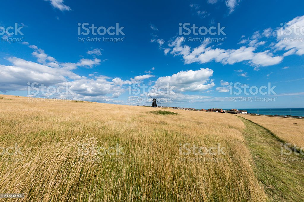 Rottingdean Windmill From The West stock photo