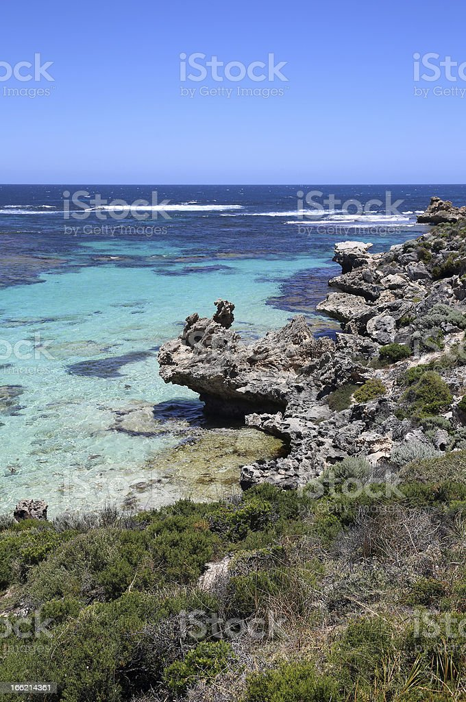 Rottnest Island royalty-free stock photo