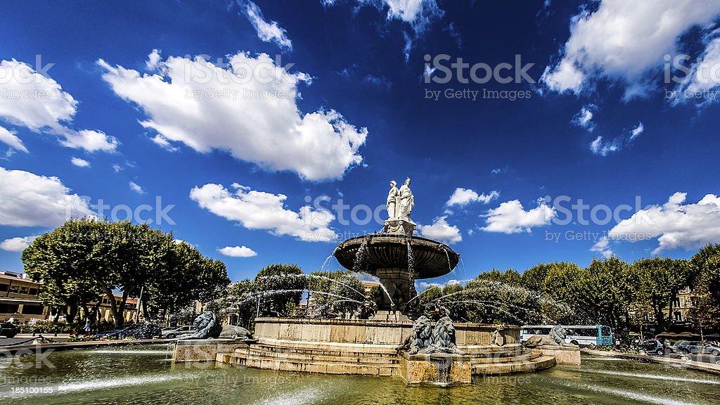 Rotunda Fountain stock photo