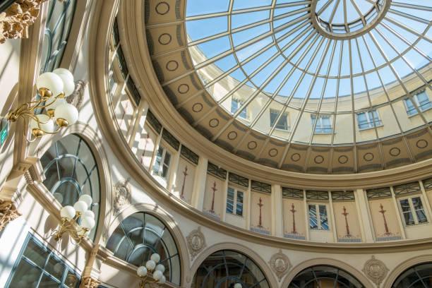 Rotunde der Galerie Colbert-in der Nähe des Nationalen Instituts für Kunstgeschichte, in der Vivienne Straße – Foto