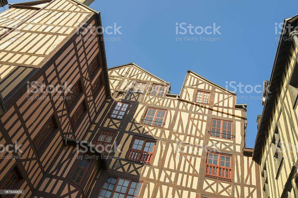 Rouen Architecture royalty-free stock photo