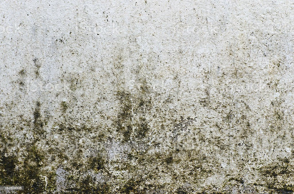 Rough and rusty old white wall royalty-free stock photo