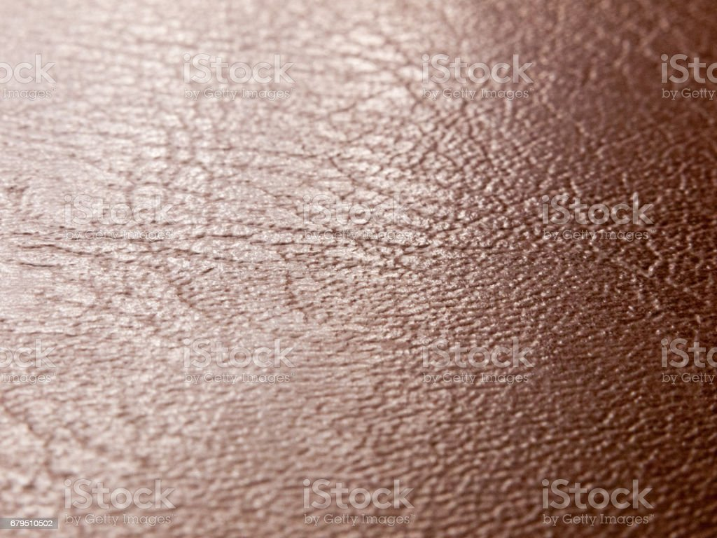 rough and smooth texture of brown leather up close royalty-free stock photo