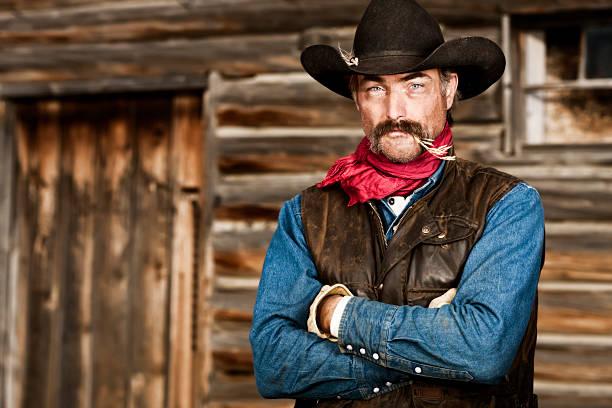 Rough and Tough Rancher stock photo