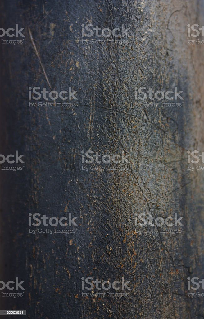 Rough blue scratched surface background royalty-free stock photo