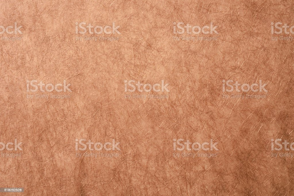 Rough brown rice paper texture background stock photo