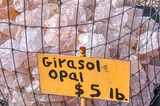 Rough bulk Girasol Opal for sale by the pound