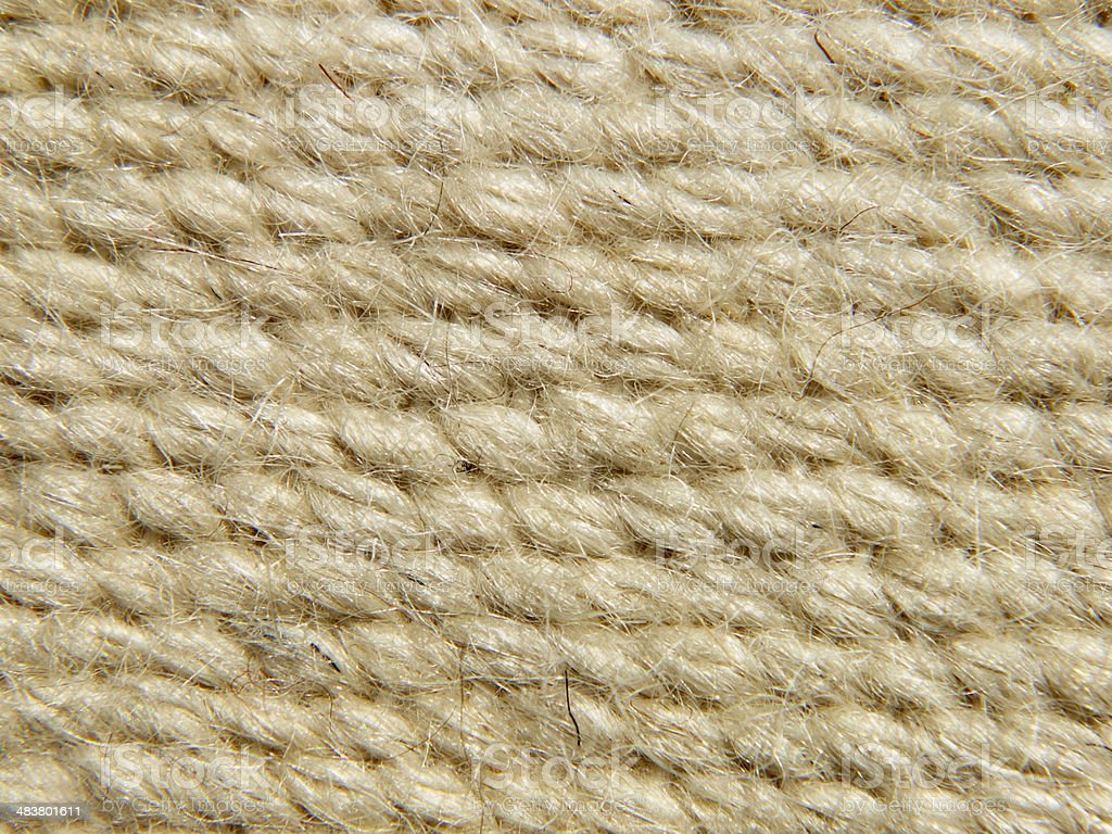 Rough camel wool fabric texture pattern.Background. royalty-free stock photo