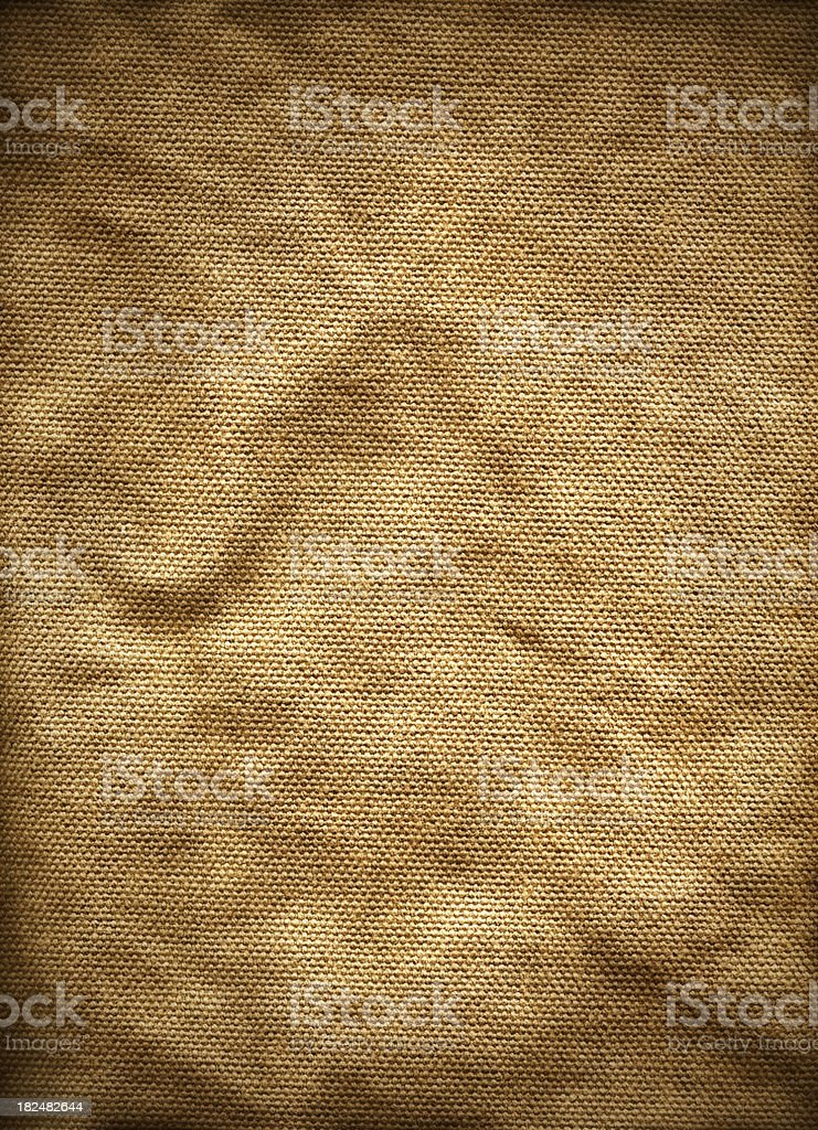 Rough Canvas Texture royalty-free stock photo