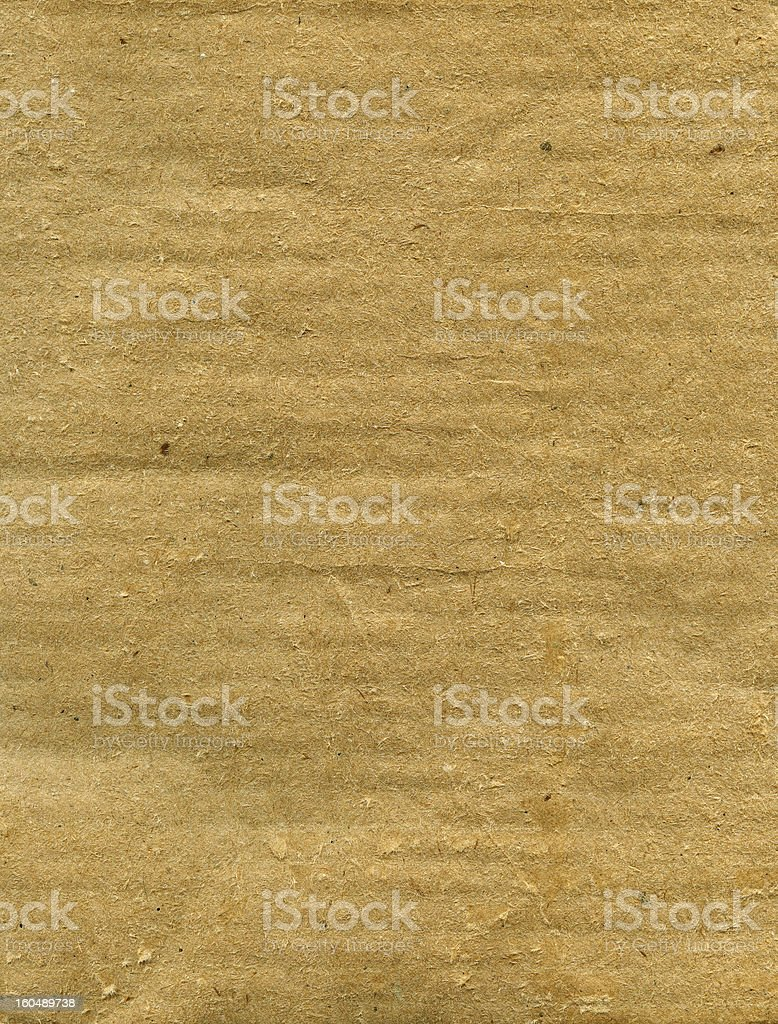 Rough cardboard royalty-free stock photo
