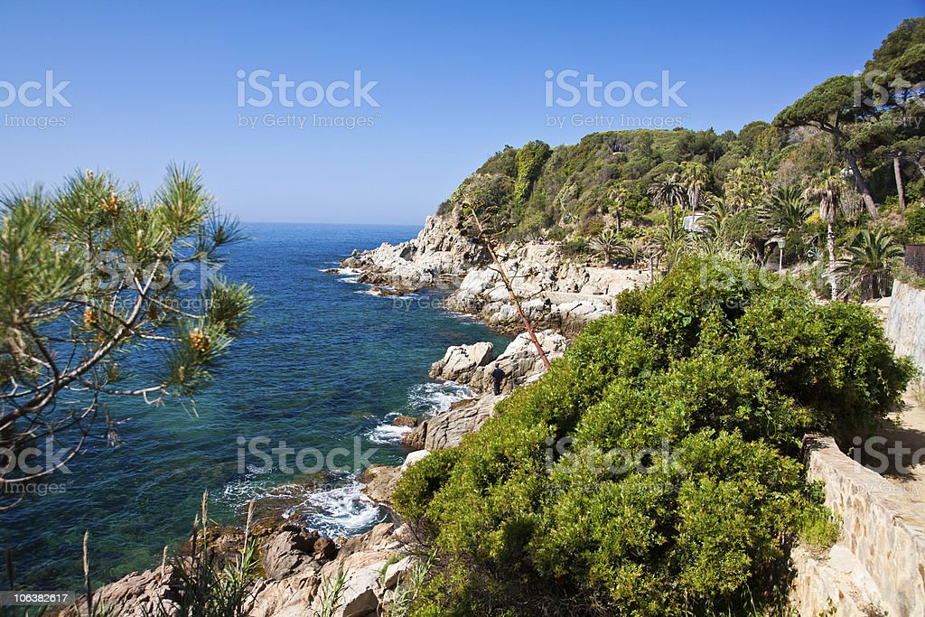 Rough Cliffs royalty-free stock photo