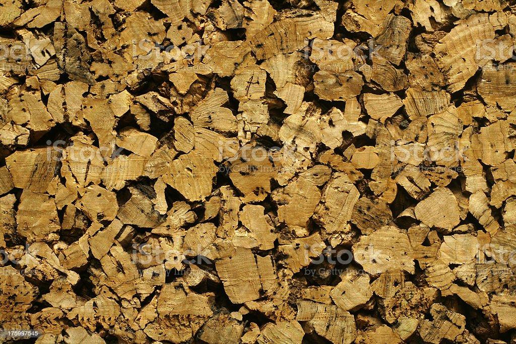 Rough Cork stock photo
