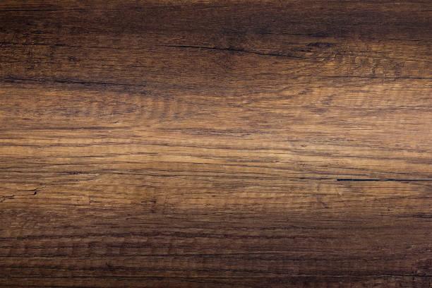 Rough dark brown wood texture stock photo