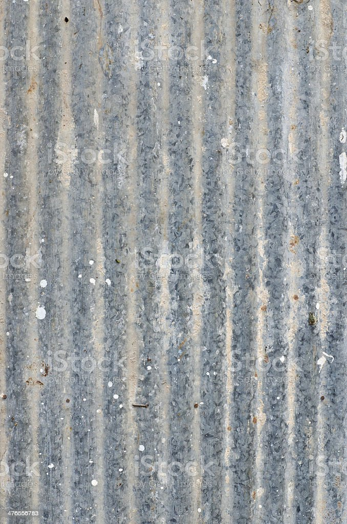 Rough dirty zinc wall for background royalty-free stock photo