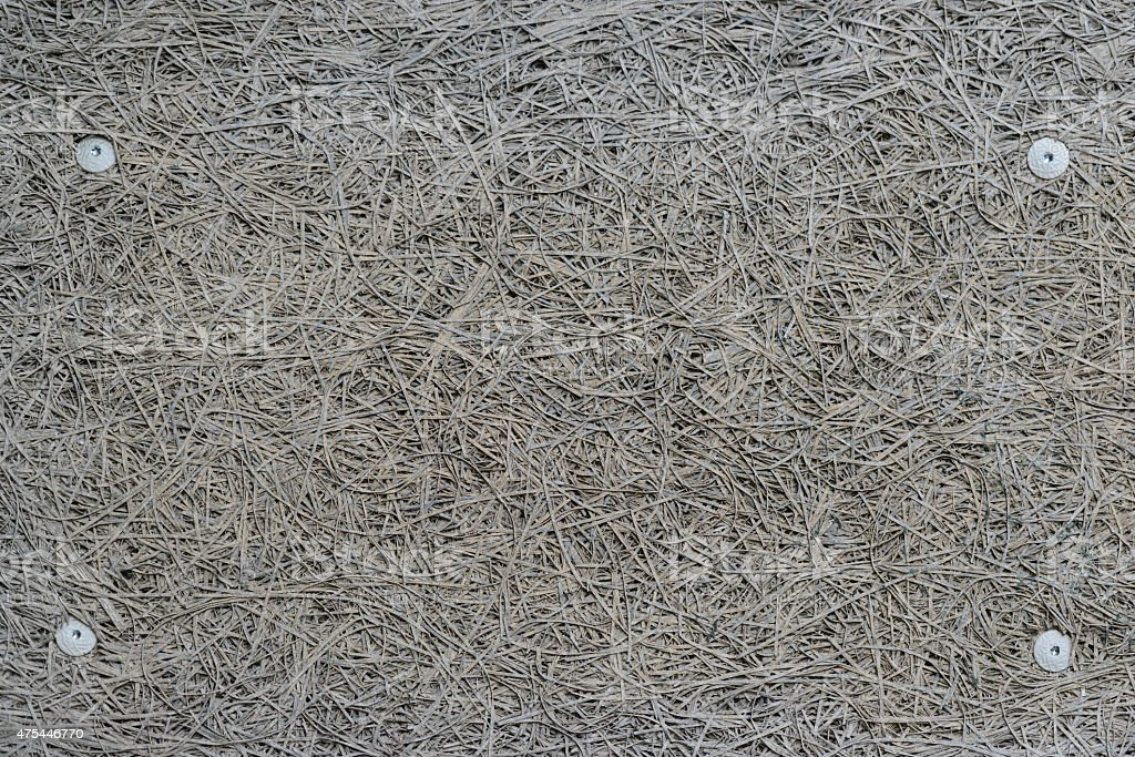 Rough Grey Fiberboard Wall Panel Stock Photo - Download