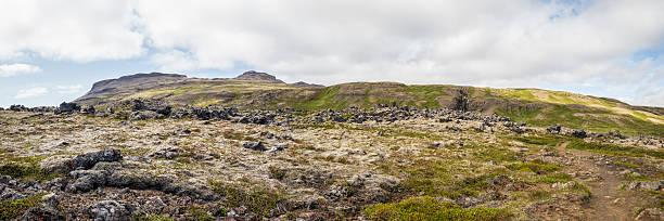 Raue Landschaft in Island – Foto