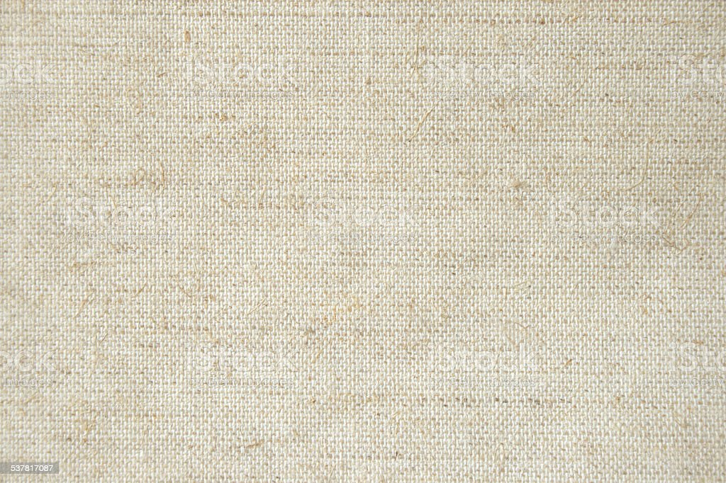 Rough muslin material stock photo