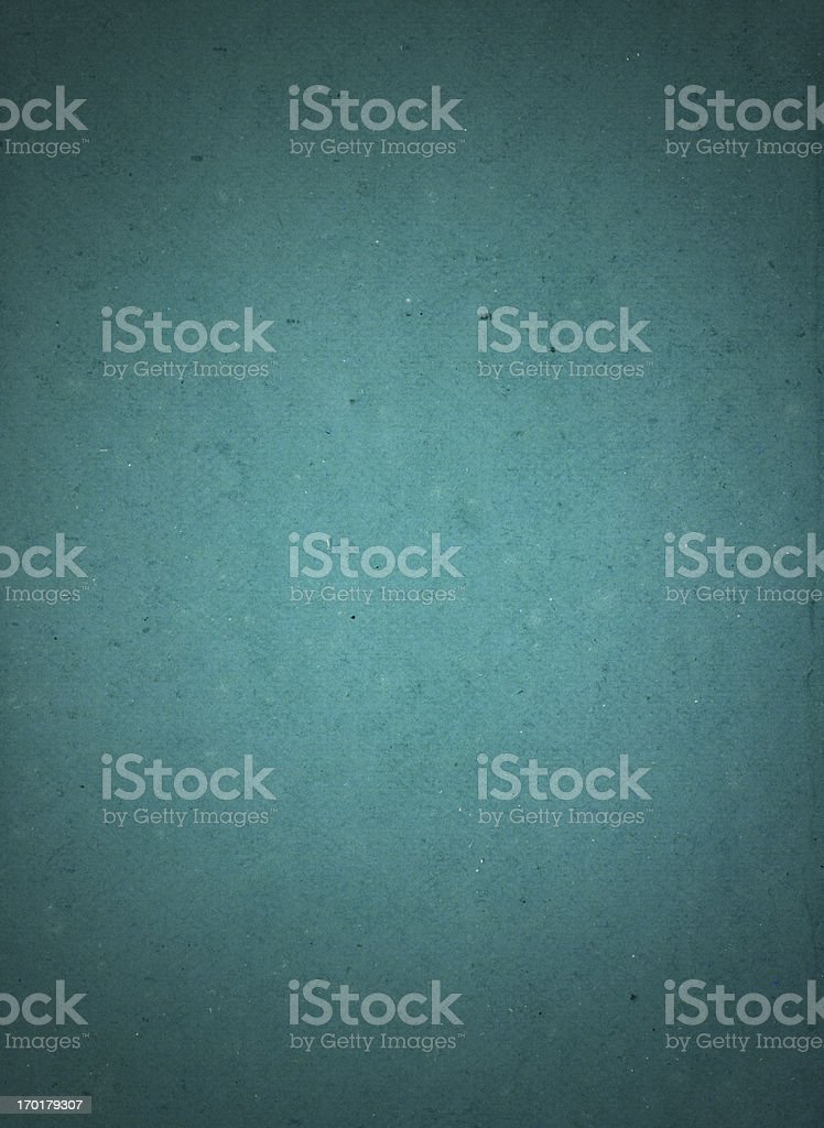 Rough paper aqua background with vignette royalty-free stock photo