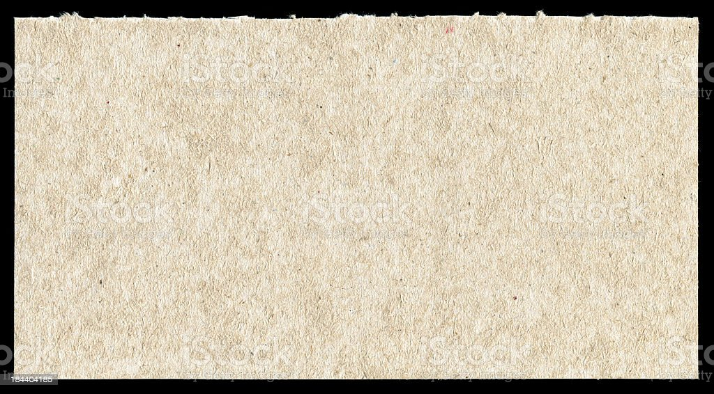 Rough paper textured background isolated royalty-free stock photo