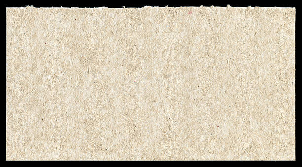 Rough paper textured background isolated stock photo
