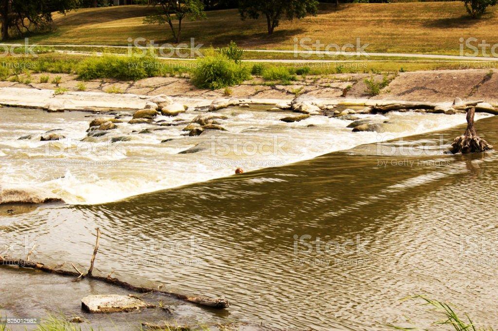 Rough River stock photo