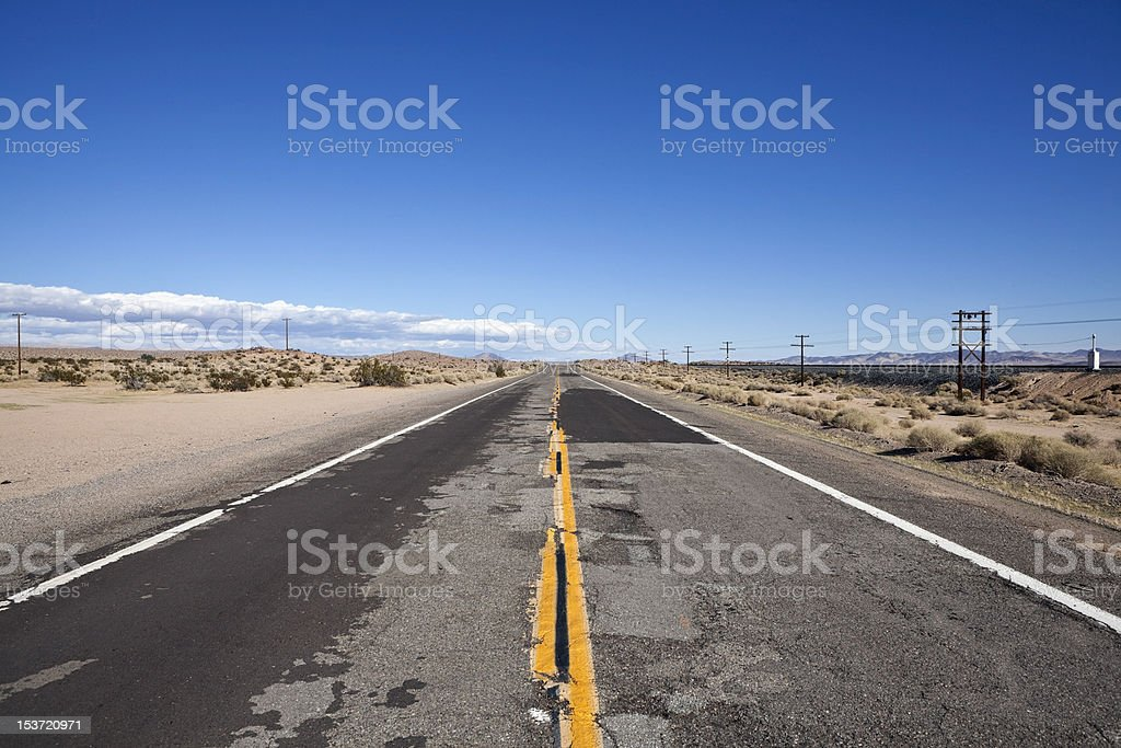Rough Road royalty-free stock photo