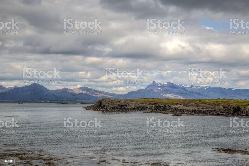 Rough Felsenküste – Foto