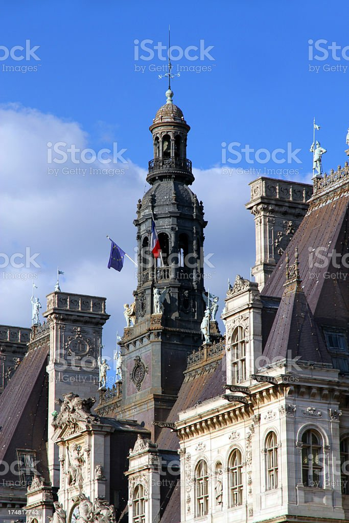 Rough Rooftop royalty-free stock photo