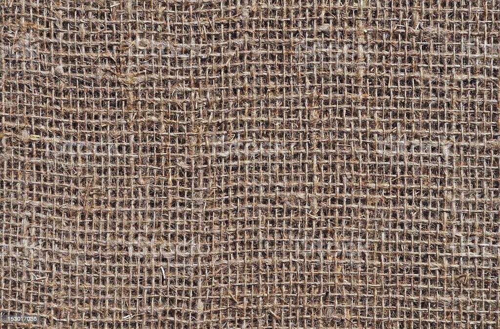 Rough sack texture royalty-free stock photo