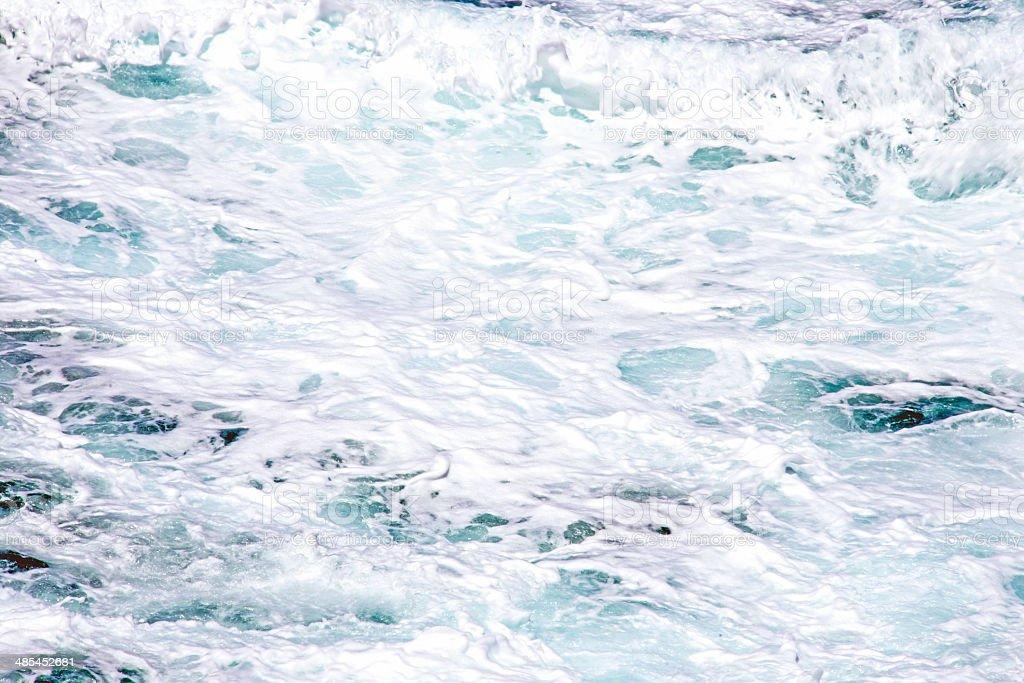 Rough sea background royalty-free stock photo