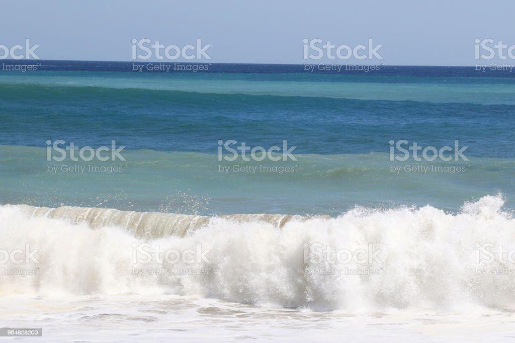 Rough sea royalty-free stock photo
