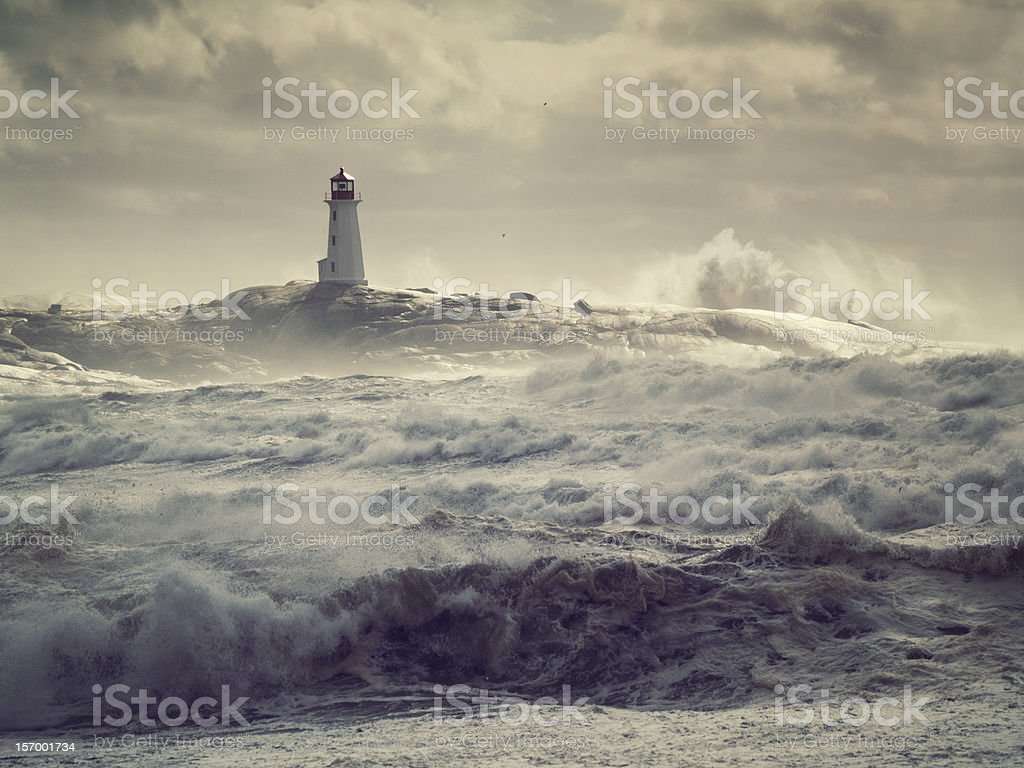 Rough Seas stock photo